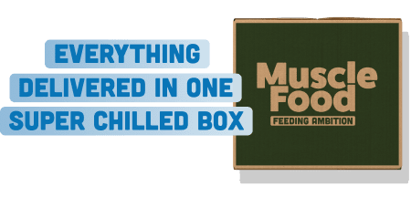 Everything delivered in one super chilled box
