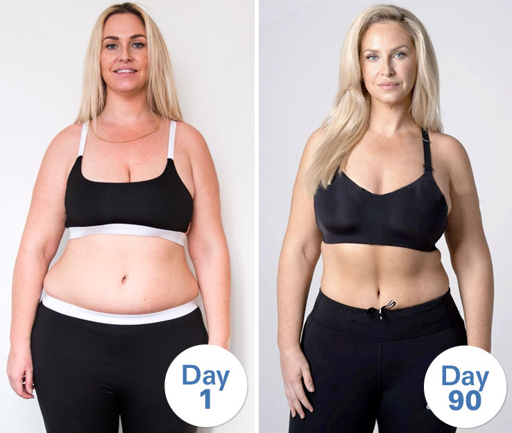 josie gibson weightloss transformation