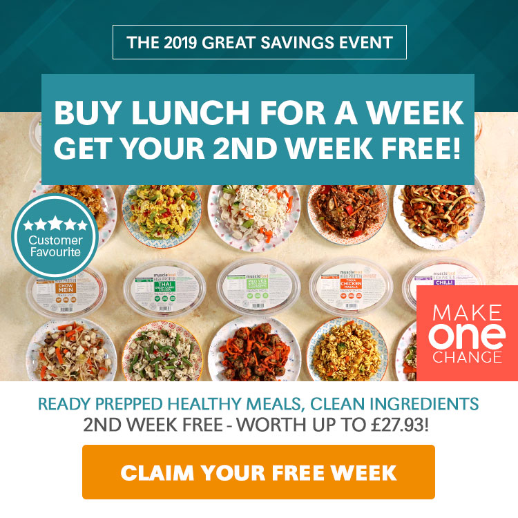 Healthy Meal Prep Deals