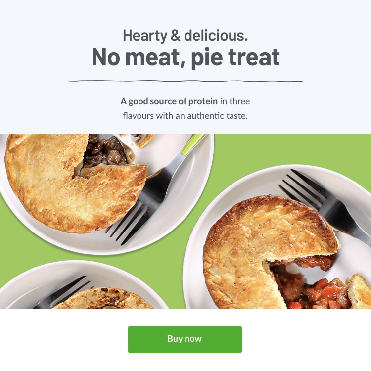 Fry's Meat Free Pies