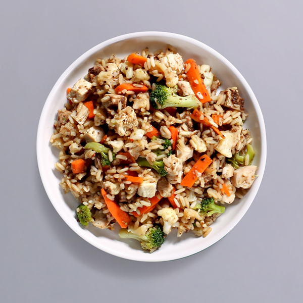 Black Bean Chicken & Rice Pot - 34g Protein & 314 kcal