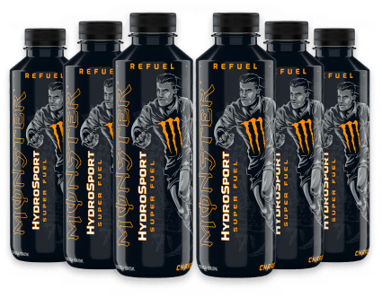 Monster HydroSport Charge 6 x 650ml