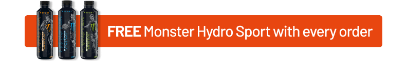 FREE Monster Hydro Sport with every order