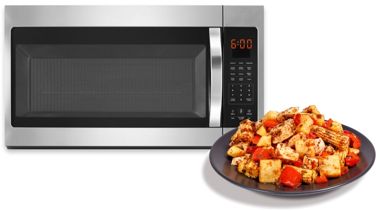 Microwave in 6-8 mins