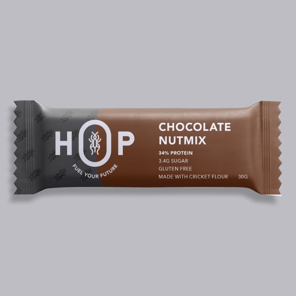 HOP Cricket Flour Protein Bar - Chocolate 30g