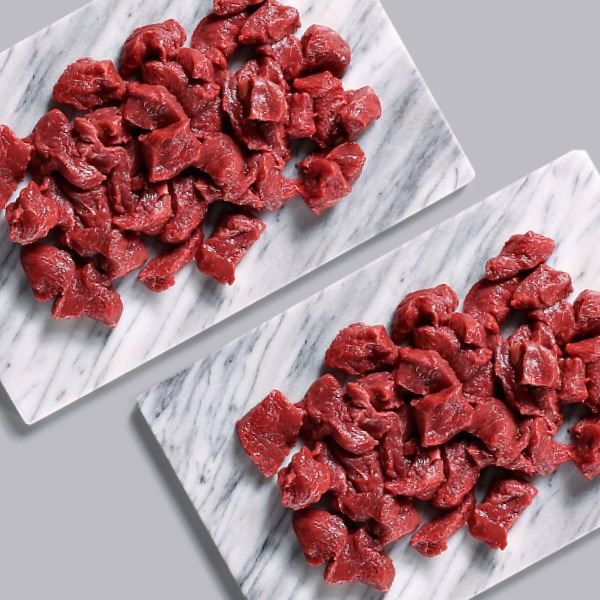 2 x 200g Extra Lean Diced Steak