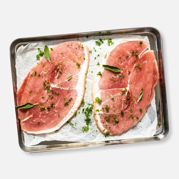 2 x 170g Horseshoe Gammon Steaks