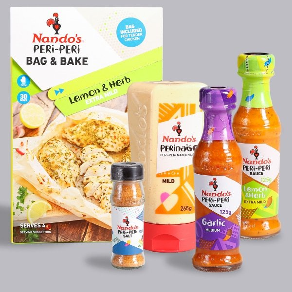 Nando's Sauce & Seasoning Selection – Mild