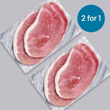 4 x 170g Gammon Steaks